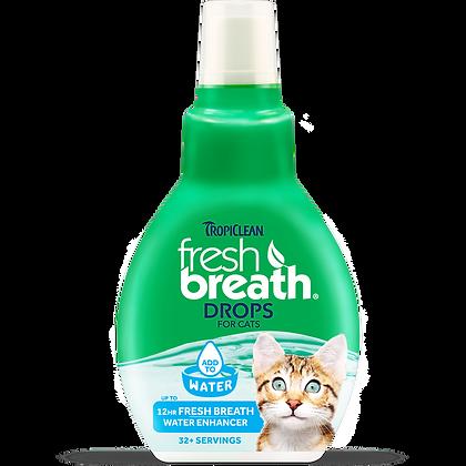 Tropiclean Fresh Breath Drops For Cats ( 2.2 fl. oz )