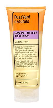Fuzzyard Tangerine + Rosemary Super Shine Dog Shampoo (220ml)