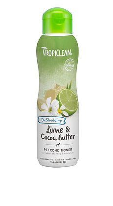 Tropiclean Lime & Cocoa Butter Conditioner (12oz)
