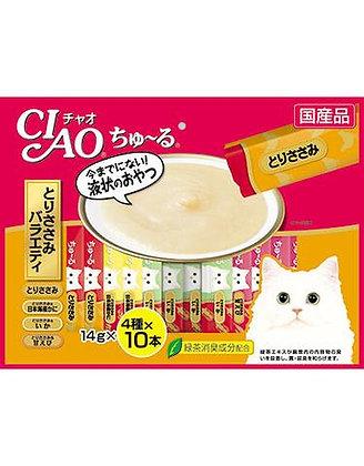 Ciao Churu Chicken Jumbo Mix Cat Treat ( 40 sachets )