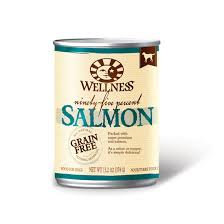 Wellness 95% Salmon Formula canned ( 13.2oz )