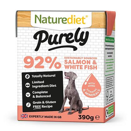 Naturediet Purely Dog Food Salmon & Whitefish ( 390g )
