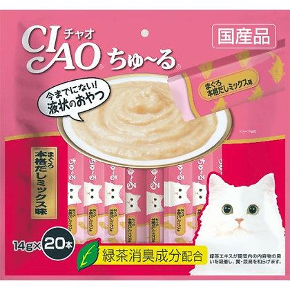 Ciao Churu Tuna Japanese Broth Cat Treat ( 20 sachets )