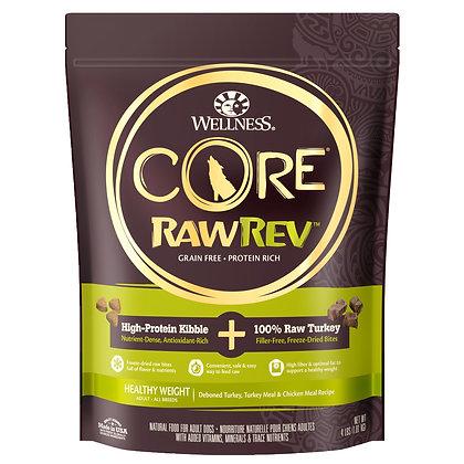 Wellness Core RawRev Healthy Weight + 100% Raw Turkey ( 4lb / 10lb/ 18lb )