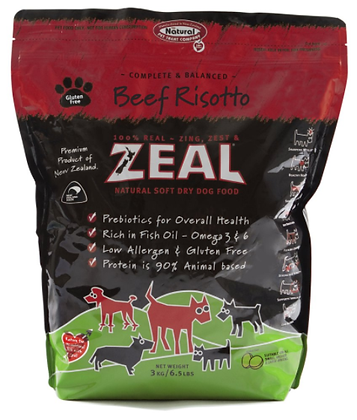 Zeal Beef Risotto ( 3kg )