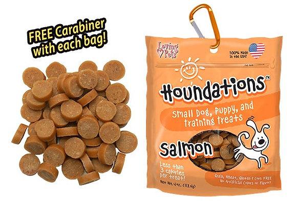 Loving Pets Houndations™ Salmon Bite-Size Soft-Chew Treat ( 4oz )