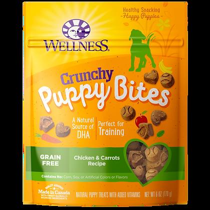 Wellness Puppy Bites Crunchy Chicken & Carrots ( 6oz )