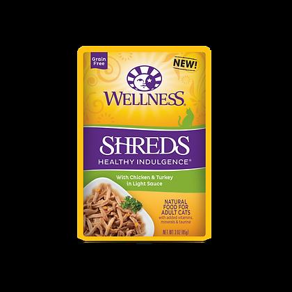 Wellness Healthy Indulgence Grain Free Gravies Chicken & Turkey Wet food (3oz)