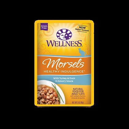 Wellness Healthy Indulgence Grain Free Turkey & Duck Wet Food (3oz)