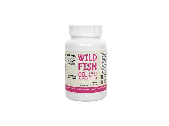Dom & Cleo Wild Fish Oil ( 60 Gelcaps )
