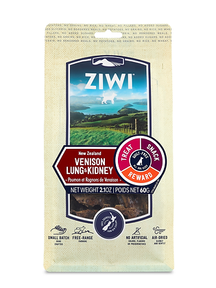 Ziwi Venison Lung & Kidney Air Dried Dog Treats