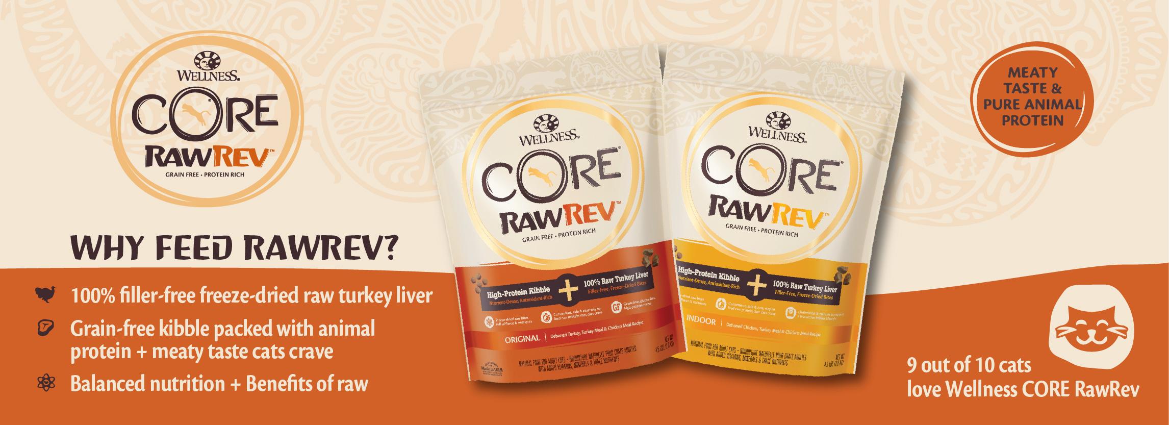 Wellness CORE RawRev Cat_Banner