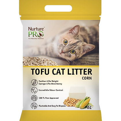 Nurture Pro Tofu Cat Litter Corn ( 6L )