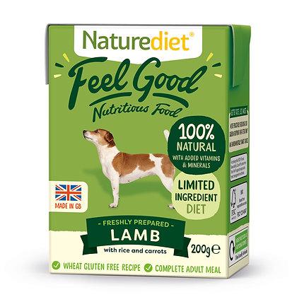 Naturediet Feel Good Dog Food Lamb ( 200g/ 390g )