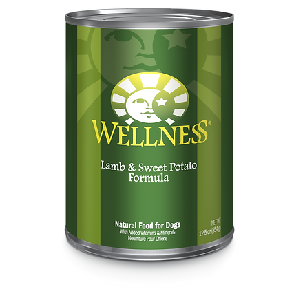 Wellness Lamb & Sweet Potato canned ( 12.5oz )