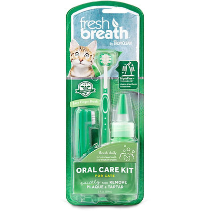 Tropiclean Oral Care Kit For Cat