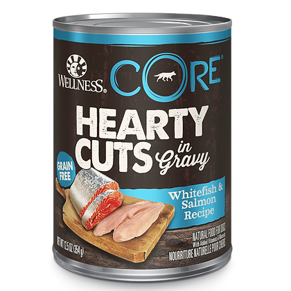 Wellness Core Hearty Cuts In Gravy Whitefish & Salmon ( 12.5oz )