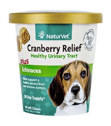 NaturVet Cranberry Relief Plus Echinacea Soft Chew Cup ( 60 ct )