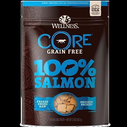 Wellness Core Salmon 100% Freeze Dried Treats (2oz)