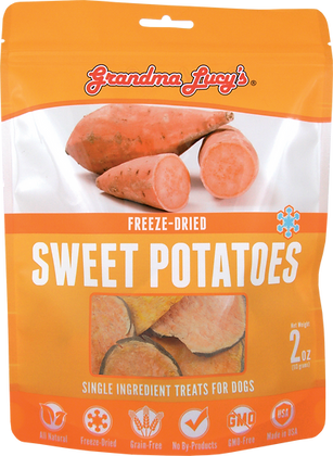 Grandma Lucy's Freeze Dried Singles Sweet Potatoes Treats ( 2oz )