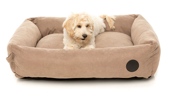 Fuzzyard The Lounge Bed Mocha