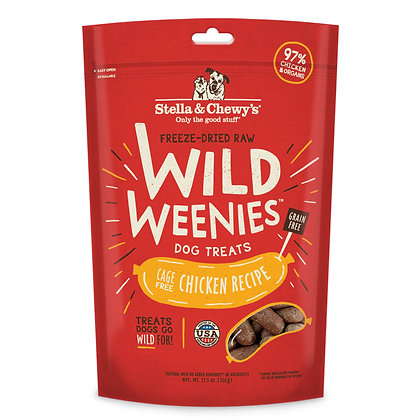 Stella & Chewy's Freeze Dried Chicken Wild Weenies Treats ( 3.25oz )