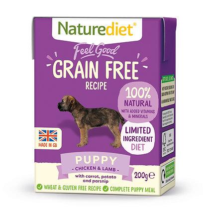 Naturediet Feel Good Grain Free Dog Food Puppy ( 200g/ 390g )
