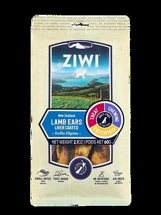 Ziwi Lamb Ears Air Dried Dog Treats