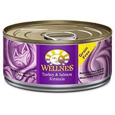 Wellness Turkey & Salmon Formula ( 5.5oz )