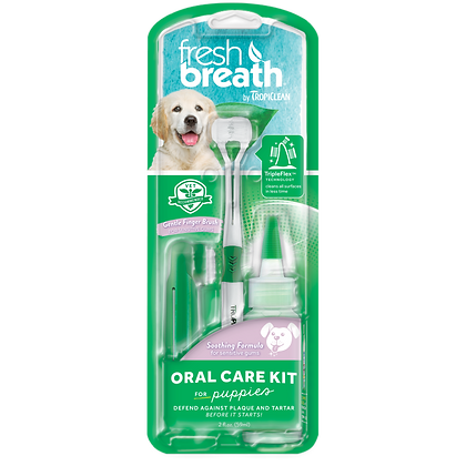 Tropiclean Oral Care Kit For Puppy