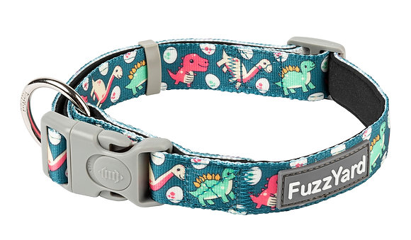 Fuzzyard Collar Dinosaur Land