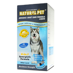 Natural Pet Advance Joint Care Formula Liquid ( 300ml / 60 tabs )