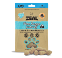 Zeal Freeze Dried Lamb & Salmon Morsels (100g)
