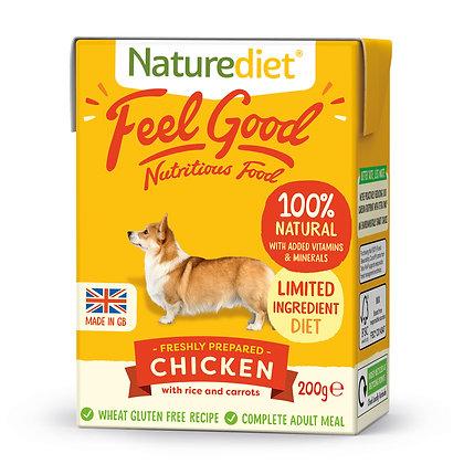 Naturediet Feel Good Dog Food Chicken ( 200g/ 390g )