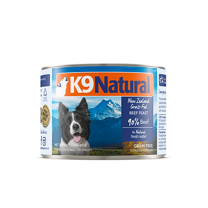 K9 Natural Canned Dog Food – Beef Feast ( 170g / 370g )