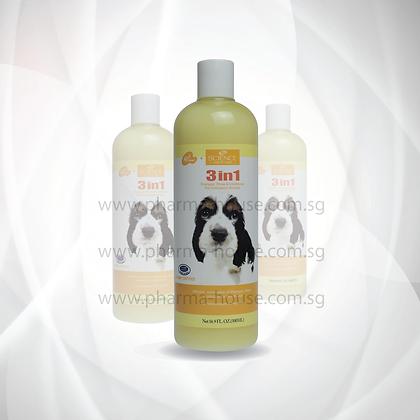 SB Science 3-In-1 Shampoo ( 500 ml / 4L )