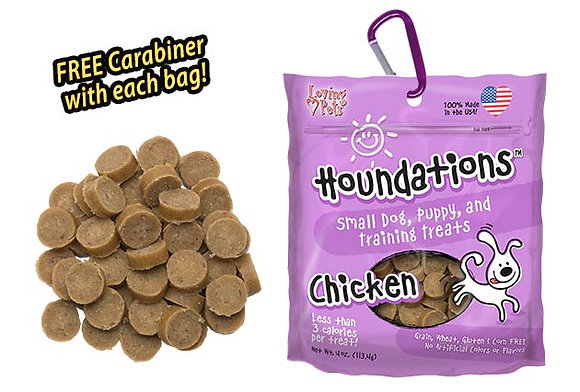 Loving Pets Houndations™ Chicken Bite-Size Soft-Chew Treat ( 4oz )