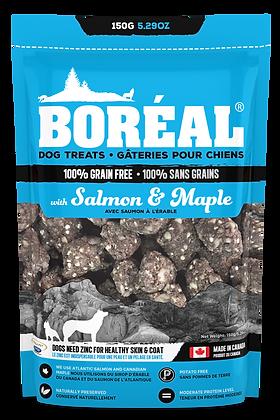 BORÉAL SALMON AND MAPLE DOG TREATS (150g)