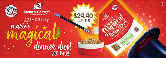 Stella & Chewy's Marie's Magical Dinner Dust Dogs