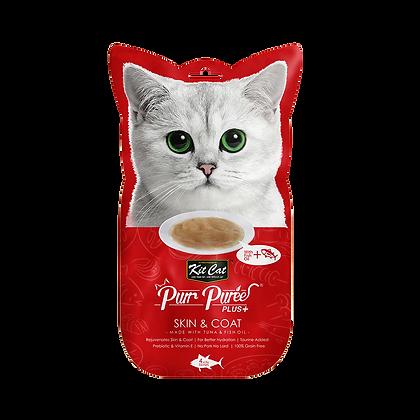 Kit Cat Purr Puree Plus+ Tuna & Fish Oil (Skin & Coat)