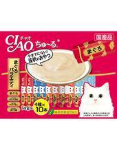 Ciao Churu Tuna Scallop Jumbo Mix Cat Treat ( 40 sachets )