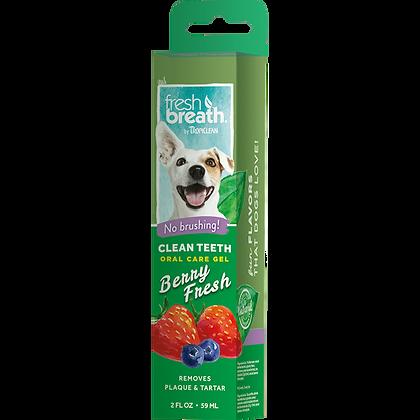 Tropiclean Dog Berry Fresh Clean Teeth Gel (59ml)