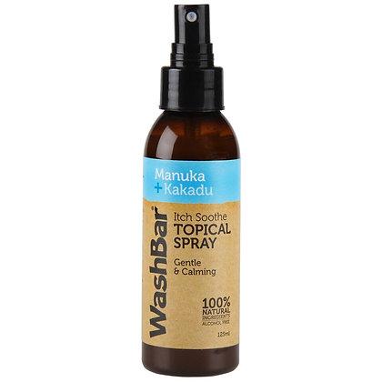 WashBar Manuka + Kakadu Itch Soothe Topical Spray ( 125ml )