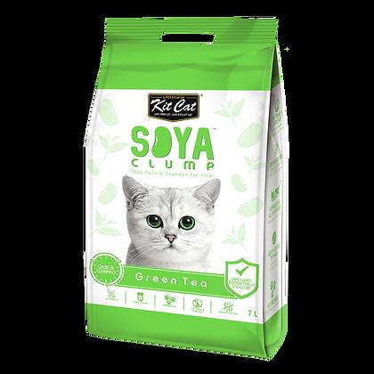 Kit Cat Soya Clump Green Tea ( 7Litre )