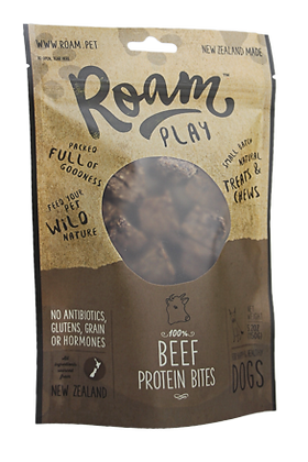 Roam Play Beef Protein Bites Treats ( 150g )
