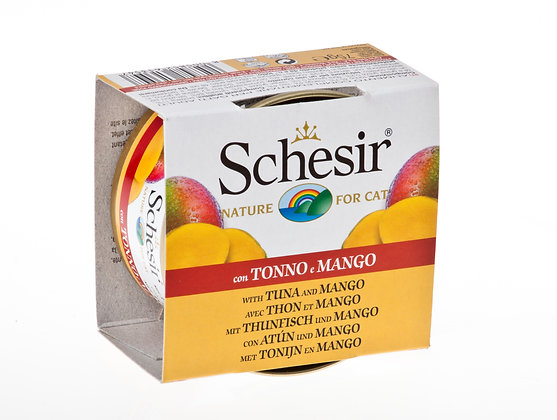 Schesir Tuna & Mango Canned For CATS ( 75g )