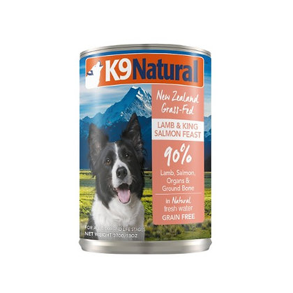 K9 Natural Lamb & King Salmon Feast Canned ( 170g / 370g )