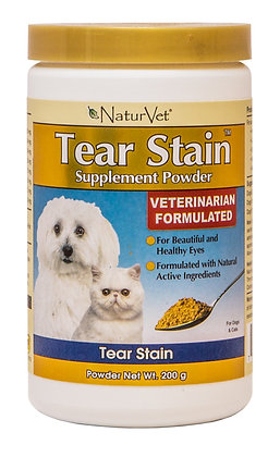 NaturVet Tear Stain Supplement Powder ( 200g )
