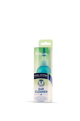 Tropiclean Dual Action Ear Cleaner For Pets (4oz)