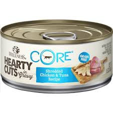 Wellness Core Hearty Cuts Shredded Chicken & Tuna canned ( 5.5oz )